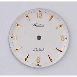Minerva Antimagnetic dial 28,30mm