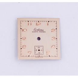 CERTINA Cadran carré 20mm