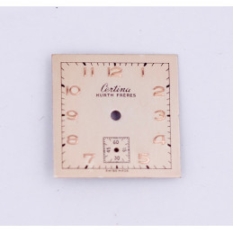 CERTINA square dial 20 mm
