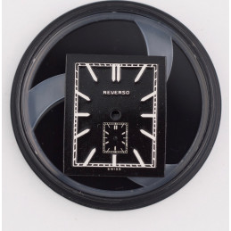 Jaeger Lecoultre etrier dial small with movement and hands