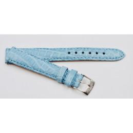 Bracelet en cuir de crocodile Van Der Bauwede avec boucle