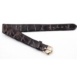 Bracelet en crocodile Jaeger Lecoultre 13mm avec boucle
