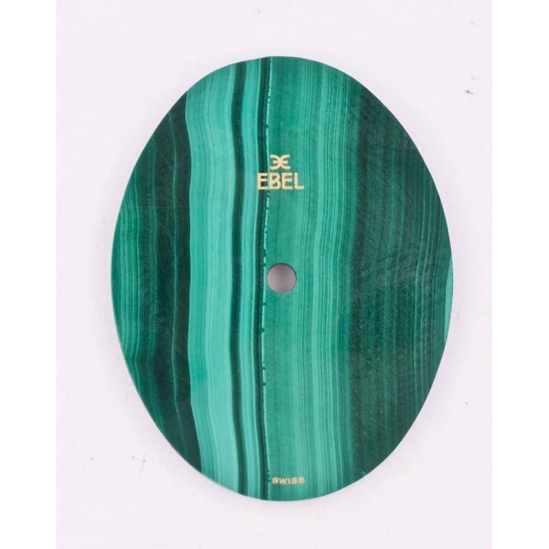 Ebel oval malachite dial