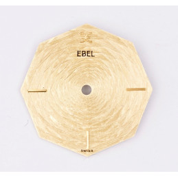 Cadran doré Ebel octogonal