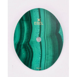 Ebel oval malachite dial