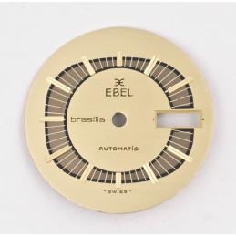 Cadran doré Ebel oval