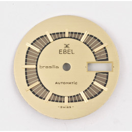 Ebel golden oval dial