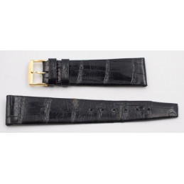 Bracelet croco Ernest Borel 17,5/14 mm