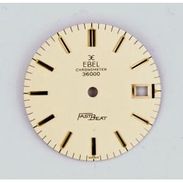 Cadran doré Ebel 28mm