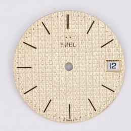 Ebel golden dial 28,50mm