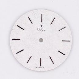 Cadran argenté Ebel 27mm