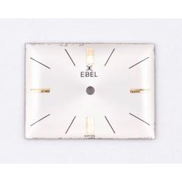 Ebel rectangular dial