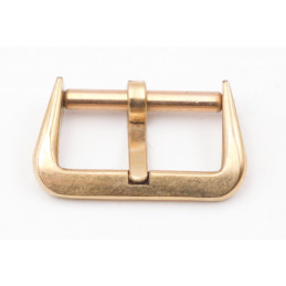 Vintage 15 mm pink gold plated buckle