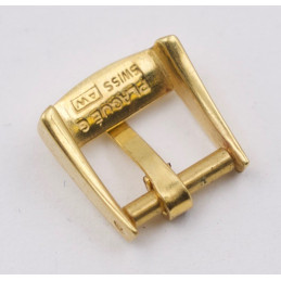 Vintage 15 mm yellow gold plated buckle