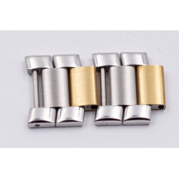 Gold/Steel link Baume et Mercier 16mm Riviera