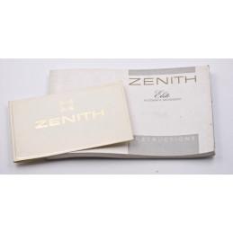 ZENITH Elite Instruction manual