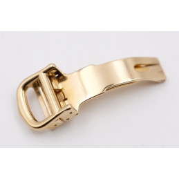 Cartier deployant buckle gold plated 11 mm