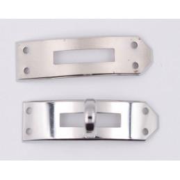 Bracelet montre Hermes caoutchouc 16mm