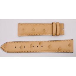 Gucci ostrich strap 20 mm