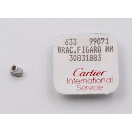 Cartier - 1/2 elem. jonction Bracelet Figaro MM