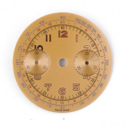 Cadran de chronographe Landeron 48  33mm