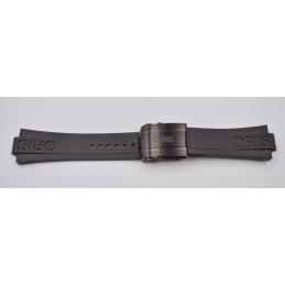 ORIS Black rubber strap ref 07 4 26 34