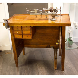 Late XX century watchmaker furniture