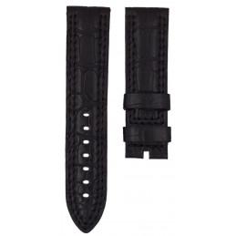 Bracelet crocodile noir JAEGER LECOULTRE pour Master Compressor DIVER 23mm