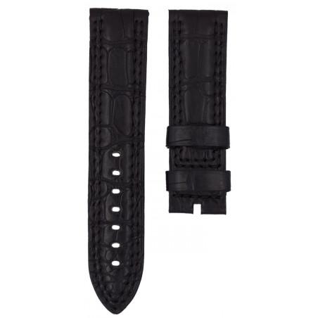 JAEGER LECOULTRE Master Compressor DIVER black crocodile strap 23mm