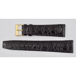 Cortebert crocodile strap 21mm vintage