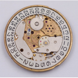 Enicar 1125 main plate with date system