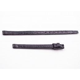OMEGA croco strap black 6,5mm