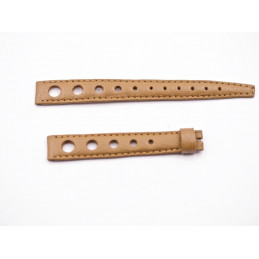 Tissot bracelet cuir Rally marron 13/12mm