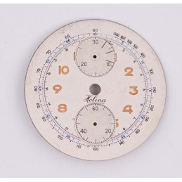 Dial for chronograph Venus 170, diameter 34mm
