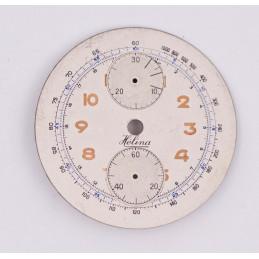 Dial for chronograph Venus 170, diameter 34mm