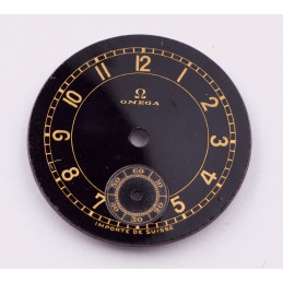 Omega Seamaster Co-Axial chronometer dial