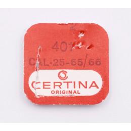 Tige de remontoir Certina cal 25-65/66 pièce 401