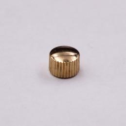 Couronne Hermes étanche dorée 3,5 mm