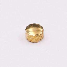 Couronne dorée 3,5 mm