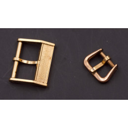 Gold plated vintage Buckles