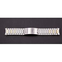 Bracelet or/acier TISSOT 18mm