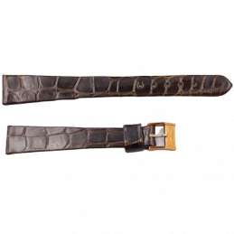 Longines crocodile strap...