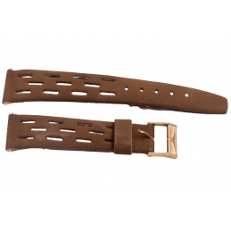 Longines nubuck strap with...