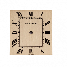 Cartier dial for old Reverso