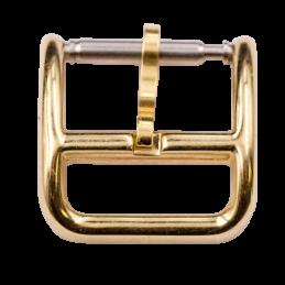 Hermes boucle 10 mm plaqué or
