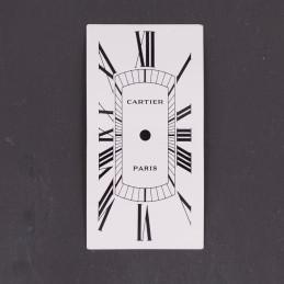 Cadran Cartier Tank cintrée...
