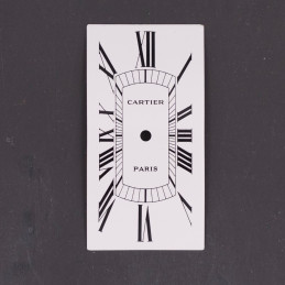 Cartier cintrée Tank dial...