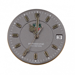 Tag Heuer movement and dial...