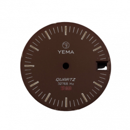 Yema quartz dial 28,50mm