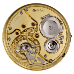 Pocket watch movement zenith